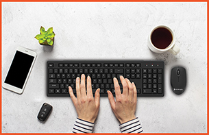 Wired Keyboard Mouse Combo